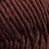 Rellana Filzwolle uni,100 %Schurwolle zum filzen in der Waschmaschine, 14 tolle Farben (6 braun)