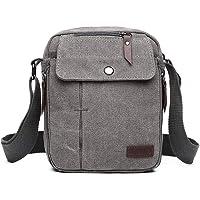 Kono Canvas Messenger Bag Strapazierfähige Crossbody Umhängetasche Männer Frauen Reise Organizer Umhängetasche mit…