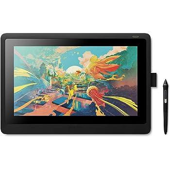 Wacom Cintiq 16 – 16 Zoll Full HD Grafik-Display mit ausklappbaren Standfüßen – Inklusive batterielosem Pro Pen 2 Stift mit verschiedenen Ersatzspitzen