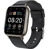 """Smartwatch, 1.69"""" Reloj Inteligente Hombre Mujer 24 Modos Deportivo Reloj Pulsera Actividad Inteligente con Pulsómetro Monito"""