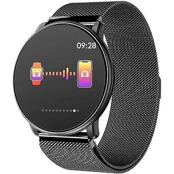 Azorex Smartwatch Reloj Inteligente Multifunción Negocio Trabajo Impermeable IP67 Pulsera Actividad Control Remoto para Deporte Reloj de Fitness con ...