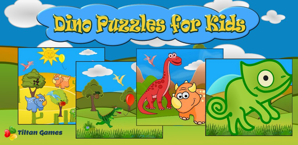 Dino Puzzle Free: Kids Games - Jigsaw puzzles for toddler