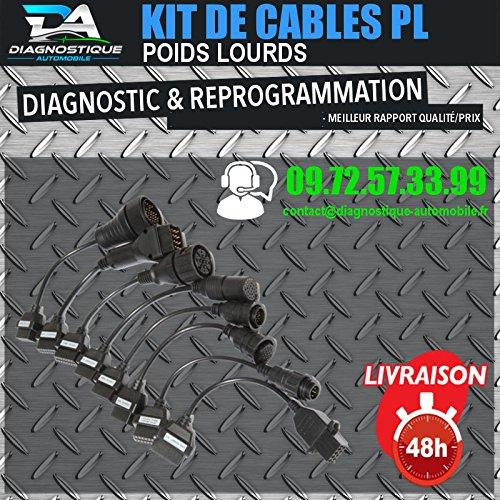 ds150 delphi Mister Diagnose® Komplettes Cables LKW–für Koffer Diagnose Autocom Delphi DS150
