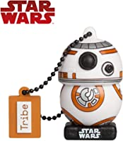 Tribe Star Wars 8 BB8 Clé USB 16 Go Fantaisie Pendrive USB Flash Drive 2.0 Originale Stockage Memoire, Idee Cadeau...