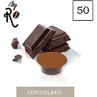 FRHOME - A Modo Mio 50 capsule compatibili - Cioccolato - MyRistretto