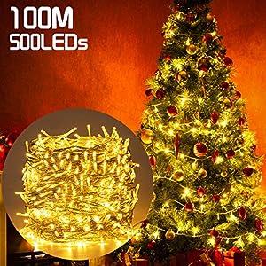 500LED 100M Guirnald Luces San