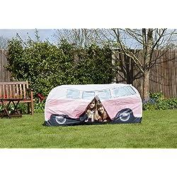 """Tienda de Campaña VW """"Bulli"""" para jugar, en Rosado para niños"""