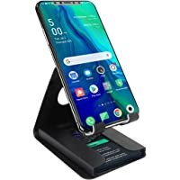 Portronics Modesk Plus POR-1196 Universal Mobile Phone Stand with Card Holder (Black)