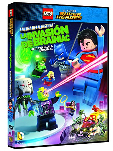 LEGO DC Super Heroes: La Liga De La Justicia. La Invasión De Brainiac [DVD]