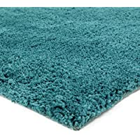 Thedecofactory Tapis Extra Doux, Polyester, Bleu scandinave, 230x160x2 cm
