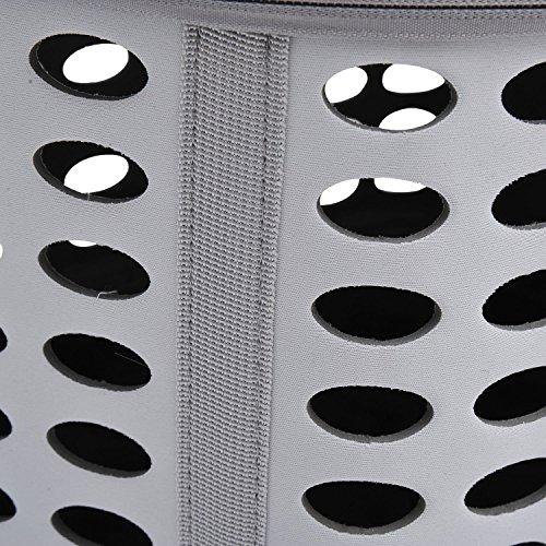PawHut D1-0166 Transporttasche für Tiere, lichtgrau - 9