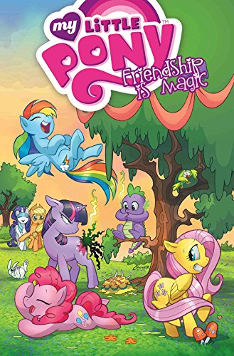My Little Pony Friendship Is Magic Volume 1 Cover Image