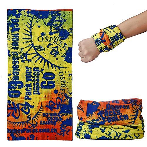 Preisvergleich Produktbild NAN® Outdoor Nahtlose Magisches Kopftuch - [6 Packungen] Männliche Und Weibliche Fahrrad Fahren Winddichte Sonnencreme Mit Kopftuchmaske, 10