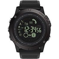 Montre Connectée Homme GOKOO Smartwatch Sport Militaire Bluetooth Montre Intelligente Multifonction Etanche Montre De…