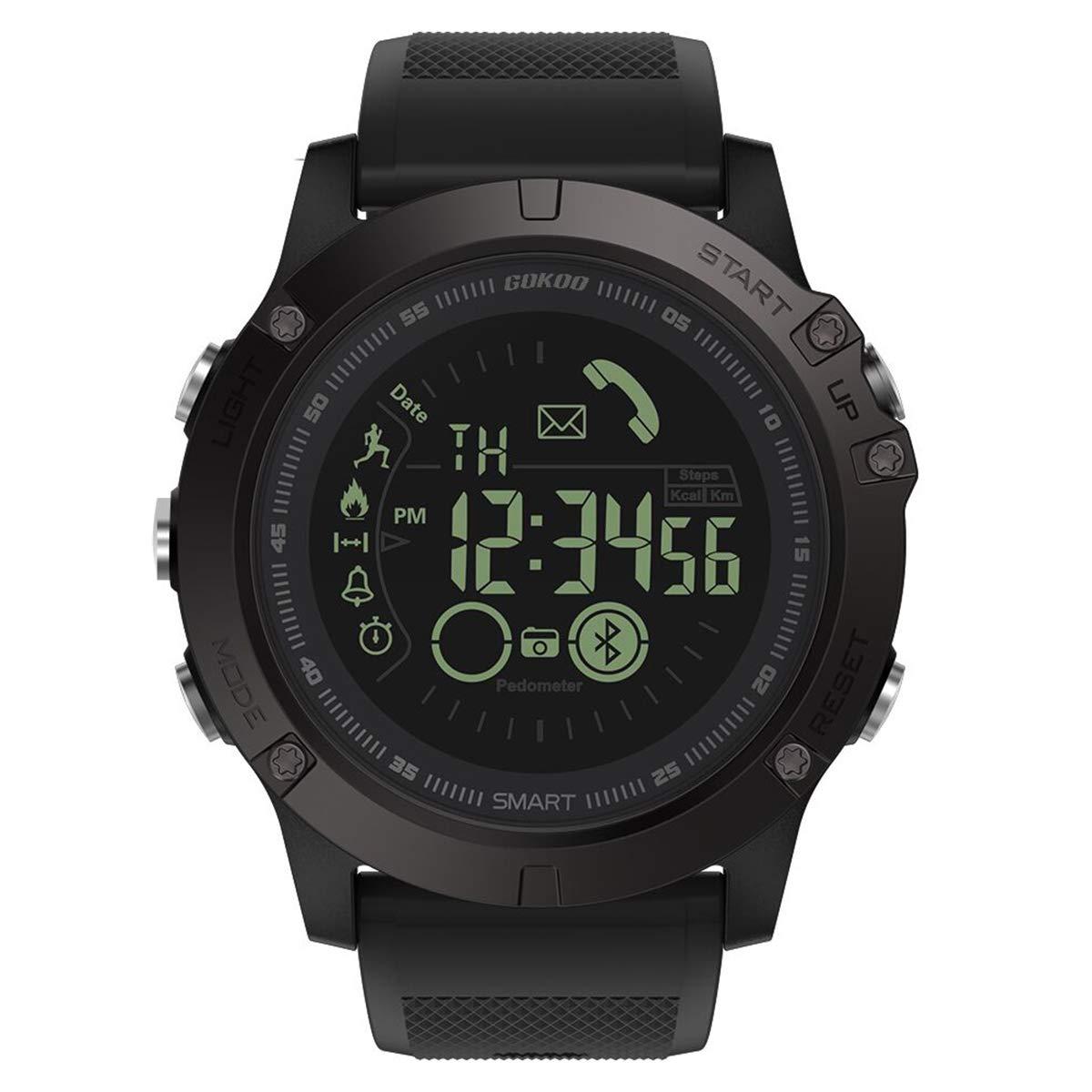 Smartwatch Hombre Deporte Reloj Inteligente Hombre Deporte con Estilo Smartwatch para Deportes y Aire Libre con… 1