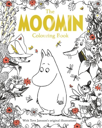 The Moomin Colouring Book (Macmillan Classic Colouring Books)