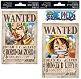 One Piece - Wanted - Aufkleber | Original Manga Anime