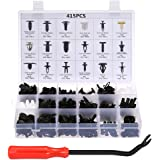 Car Retainer Clips & Plastic Fasteners Kit Auto Fastener Clips with Clips Removal Tool 415PCS 18 Sizes Car Push Pin Rivet Tri