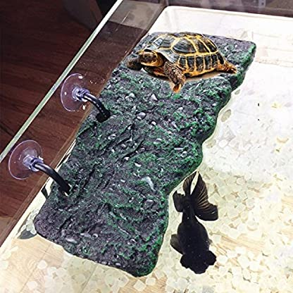 BigTron Turtle Platform, Floating Turtle Pier Rectangular Terrapin Dock PU Foam Aquarium Float Decoration Bask Terrace… 5
