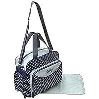GMMH 2 tlg Wickeltasche Pflegetasche Windeltasche Babytasche Farbauswahl blau 2140