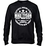 Iron Mike Tyson Catskill Boxing Club Premium Men's Black Crew Sweatshirt