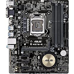 ASUS Desktop Motherboard - Intel H97 Express Chipset - Socket H3 LGA-1150 H97M-E CSM