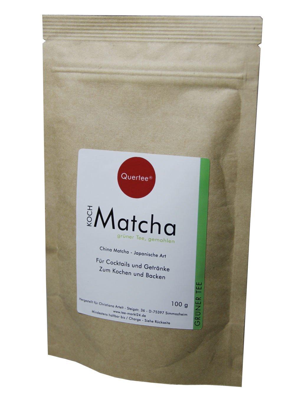 Matcha-Tee-Pulver-100-g-im-Zip-Beutel-zum-Kochen-Backen-Cocktails-Mixgetrnke-usw