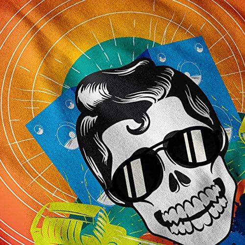 Elvis Bass Tanzen Musik Elvis Disko Damen S-2XL Muskelshirt | Wellcoda Marine