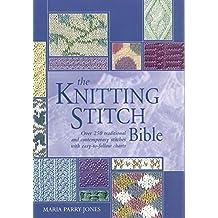 The Knitting Stitch Bible (Artist/Craft Bible)