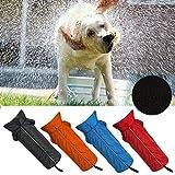 Hundemantel Regenmantel Hund Hundebekleidung Hundejacke Wintermantel Regenjacke-Orange (L) - 3
