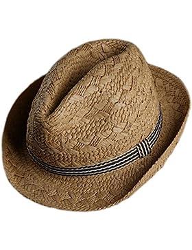 Da.Wa Sombrero Sombrero de Playa Sombrero de sol Sombrero de Jazz Sombrero de Paja Mano