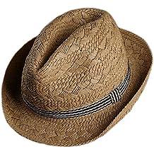 Gespout Fanciullo Primavera Estate Cappello da Jazz All aperto Casual  Cappello Panama Ragazzi Cappello di 8b33a1efee08