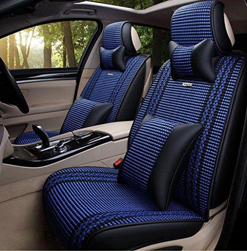 Homee @ quatre saisons oreillers intérieures de voiture quatre saisons général Automotive intérieur couverture de coussin du siège de l'automobile de soie de glace 3d