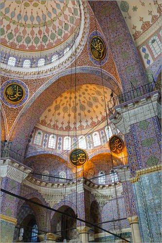 poster-20-x-30-cm-yeni-mosque-eminonu-and-bazaar-district-istanbul-turkey-europe-von-richard-cummins