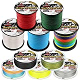Ashconfish Braided Fishing Lines - 4 Strand & 8 Strand Braid Fishing Line