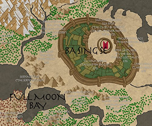 Map of the world from Avatar the Last Airbender A1 23.4 x ...