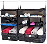 Xcase Kleidertasche: XL- und XXL-Koffer-Organizer, Packwürfel zum Aufhängen (Koffer Organizer zum Hängen)