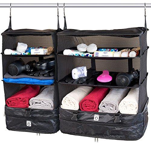 Xcase Packtaschen: XL- und XXL-Koffer-Organizer, Packwürfel zum Aufhängen (Koffertaschen)