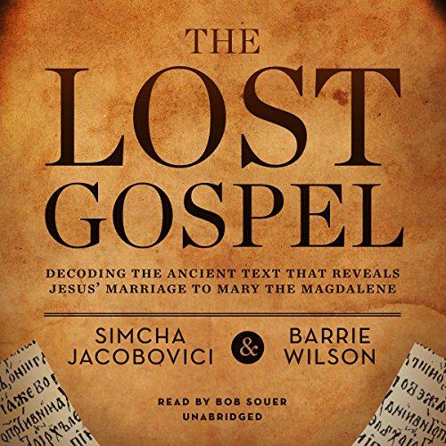 The Lost Gospel  Audiolibri