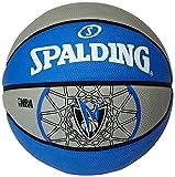 Spalding Ball NBA Team Dallas Mavericks, Blau/Grau, 7, 3001587011117