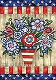 Toland Home Garden Patriotische Blumen, Bunt