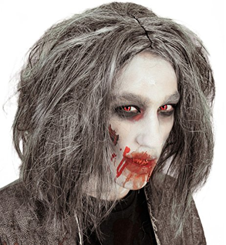 Perücke Zombie Mara PB HALLOWEEN Horror Hexe Zombie Dracula Erwachsene Unisex Fasching Karneval