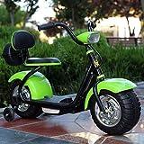 Kiblcy 4 Roues Moto Enfants Ride sur Moto 6 V Batterie Électrique Scooter De Voiture Vélo Jouet Garçons Balance Vélo Push Alo
