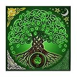 Cafepress–cerchio albero della vita celtico–tile sottobicchiere, bevanda sottobicchiere, piccolo sottopentola