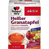Doppelherz Heißer Granatapfel mit Vitamin C – Zur Unterstützung der normalen Funktion des Immunsystems – Plus Sanddorn…