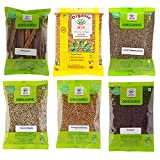 #2: Arya Farm 100% Certified Organic Whole Spice Combo Pack of 6 types of Spices