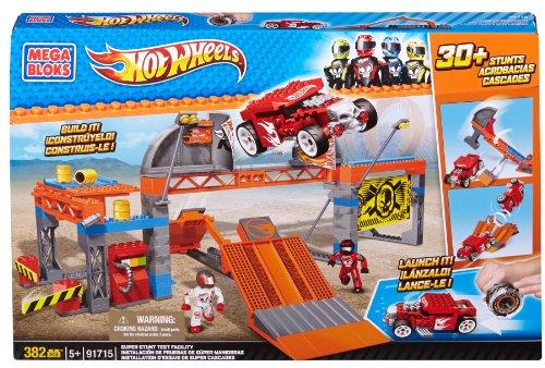 Mega Bloks Hot Wheels 91715 Mega Pista de pruebas