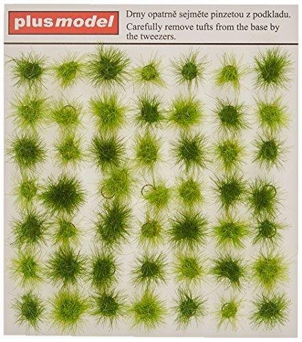 Plus-Model 471-Accesorios de construcción Tufts of Grass de Green