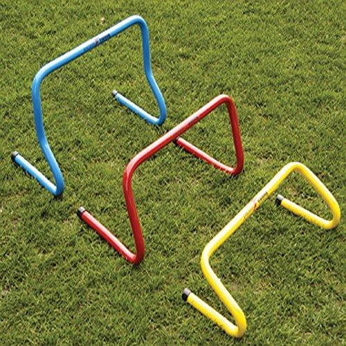 Précision de football Obstacles Sautant étape Formation en PVC Bleu/Rouge/Jaune de £12
