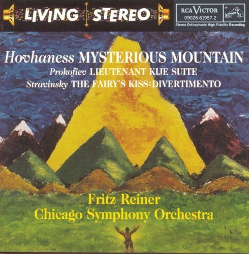 Hovhaness: Symphony No. 2 Mysterious Mountain / Prokofiev: Lt. Kije Suite / Stravinsky: Fairy's Kiss Divertimento by Hovhaness, Prokofiev, Stravinsky (1995) Audio CD (2 Symphony Prokofiev)